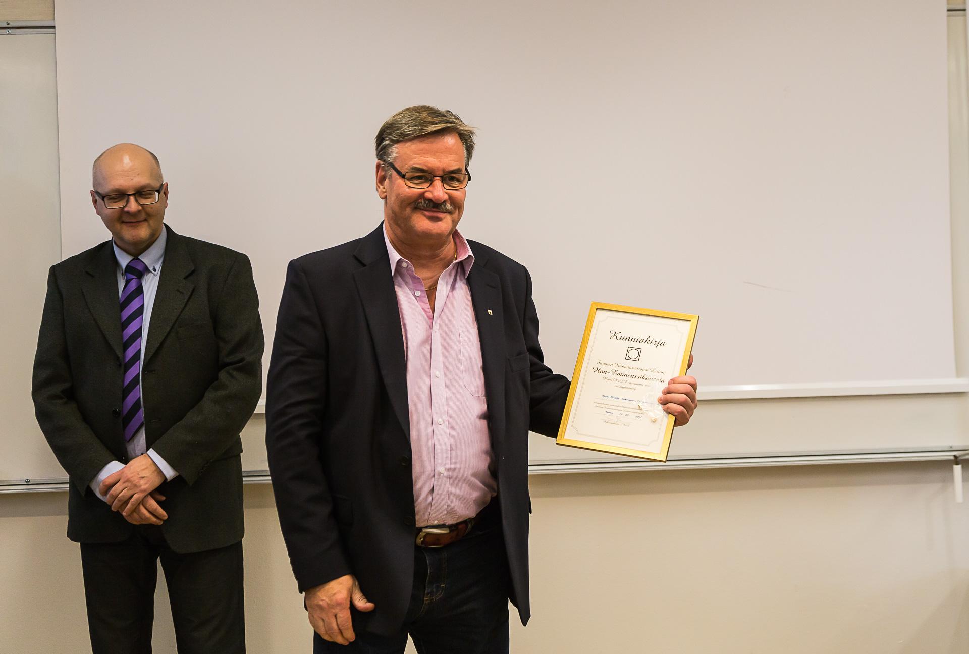 Jukka Kosonen ja Raimo Paukku